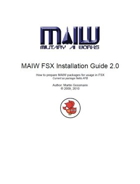 MAIW FSX Installation Guide