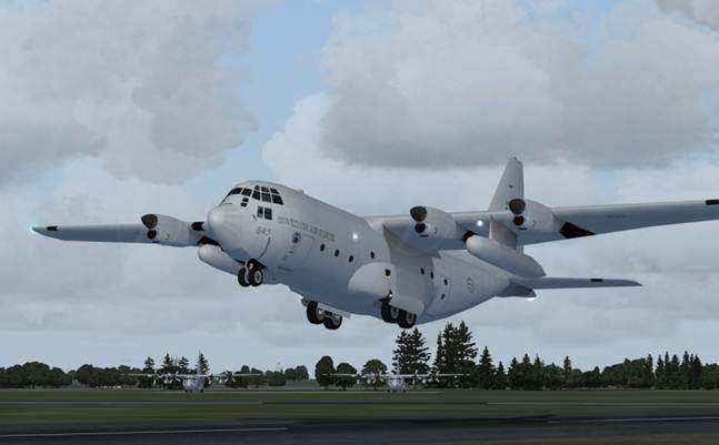 Swedish Air Force C 130s