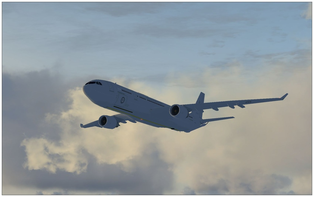 Airbus KC-30A Voyager (A330 MRTT)   The Owl's Nest - AI Screen Shot